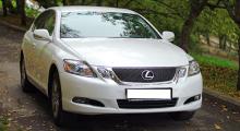 Lexus GS 300 (белого цвета)